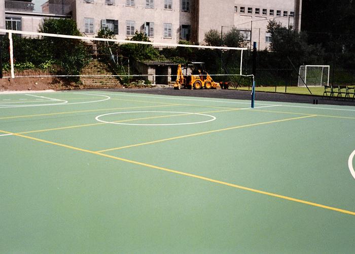 Pavimentos sector deportivo