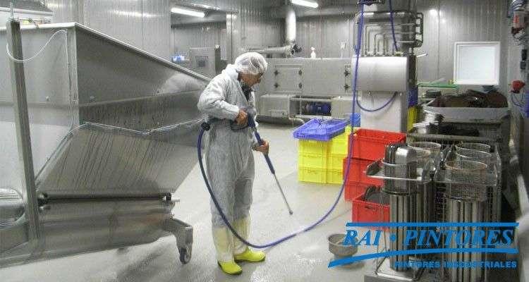 Peculiaridades en los pavimentos de la industria alimentaria