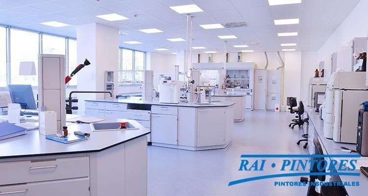 Pavimentos para laboratorios 1 - Pintores para empresas farmacéuticas