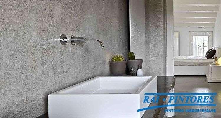 El uso del microcemento en paredes