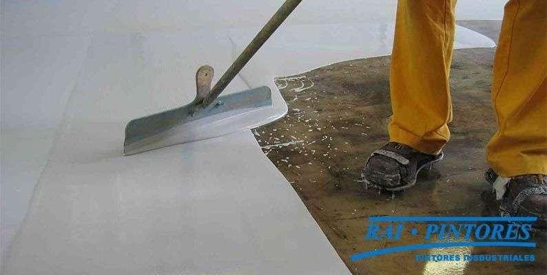 Usos para la pintura impermeabilizante transitable