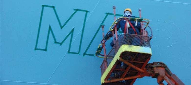 cambiar nombre barco - Pintores de embarcaciones