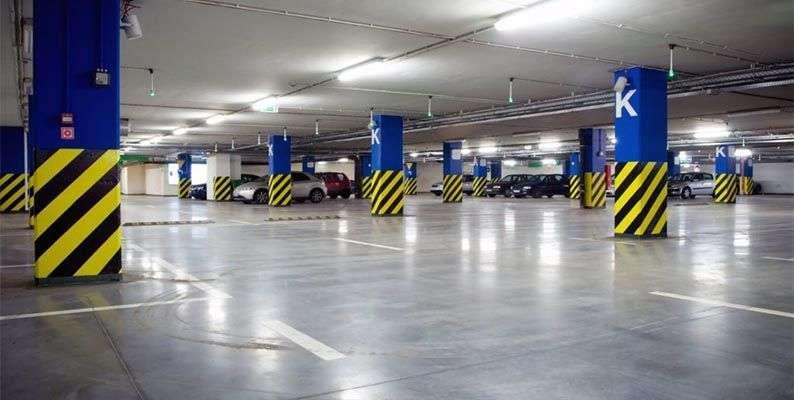 Pintura y señalización en parkings