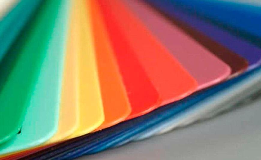 polipropileno colores - Usos del polipropileno en la construcción